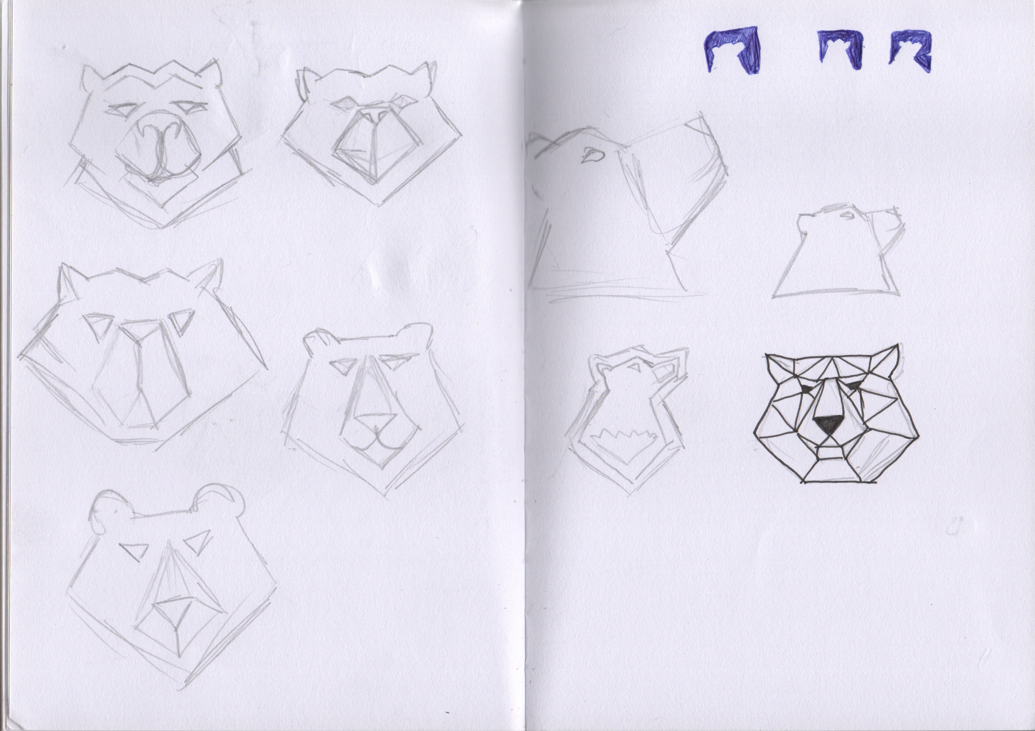 Concept sketches Black Bear