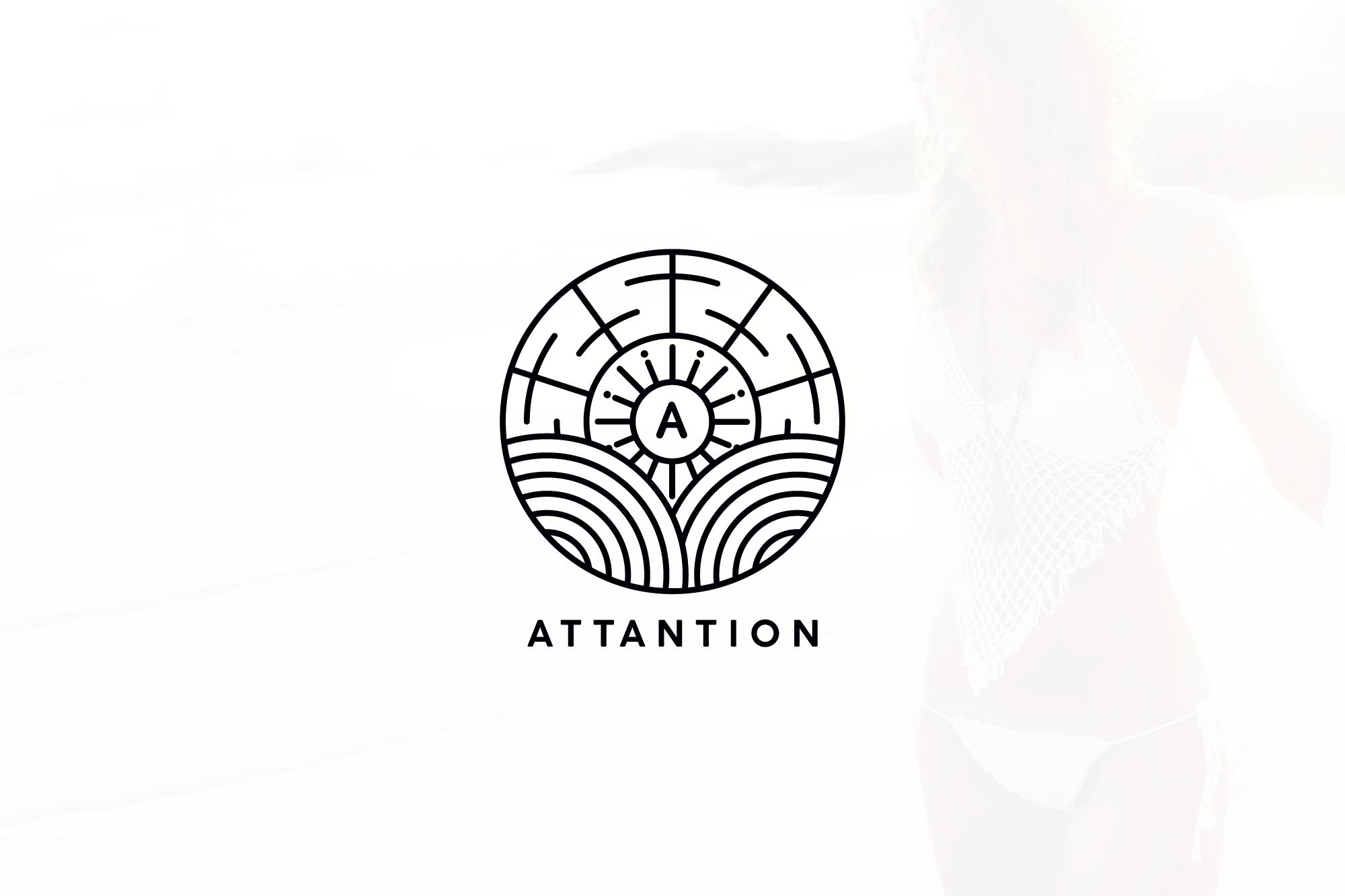 Attantion main logo
