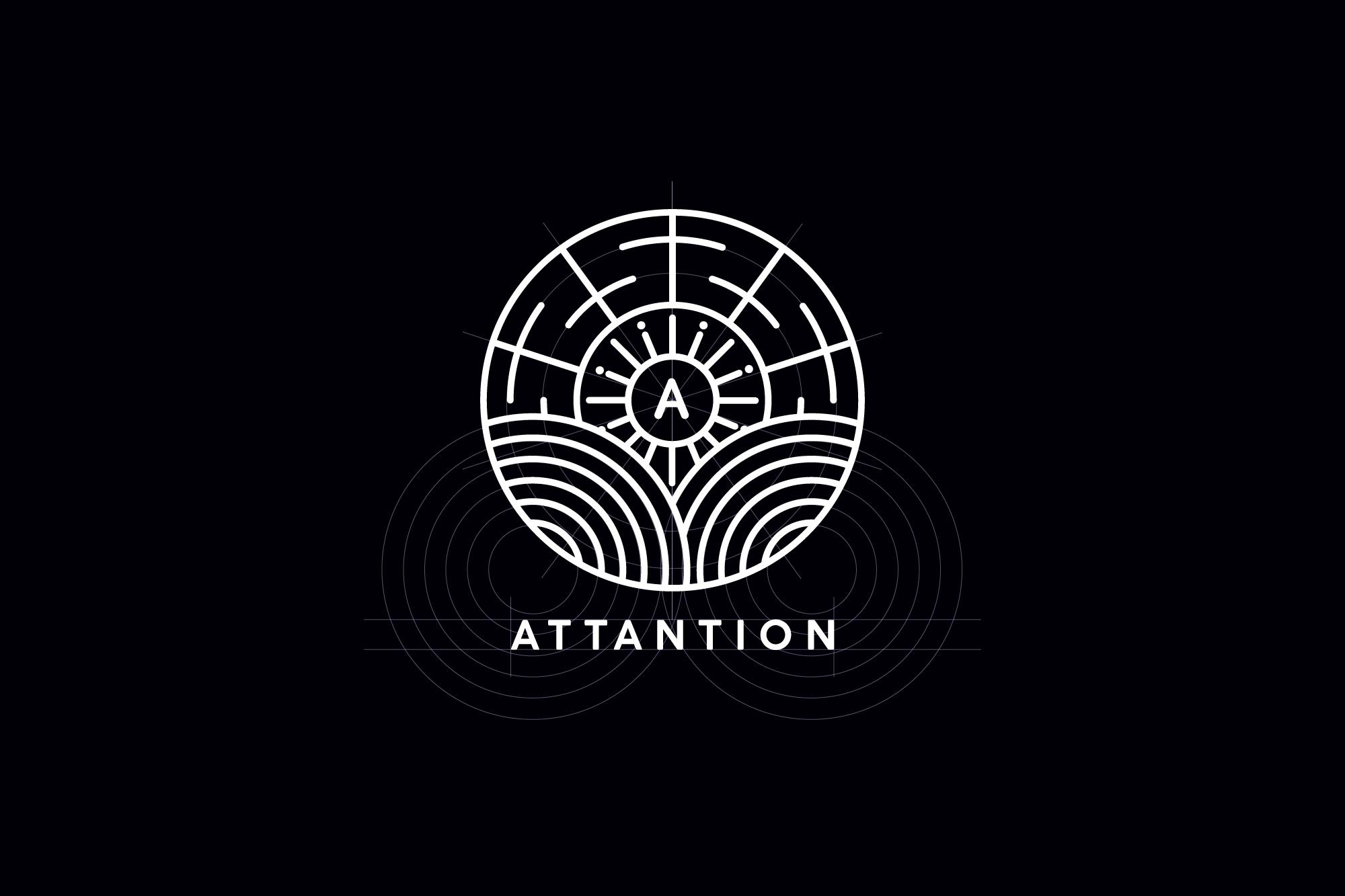 Attantion logo construction