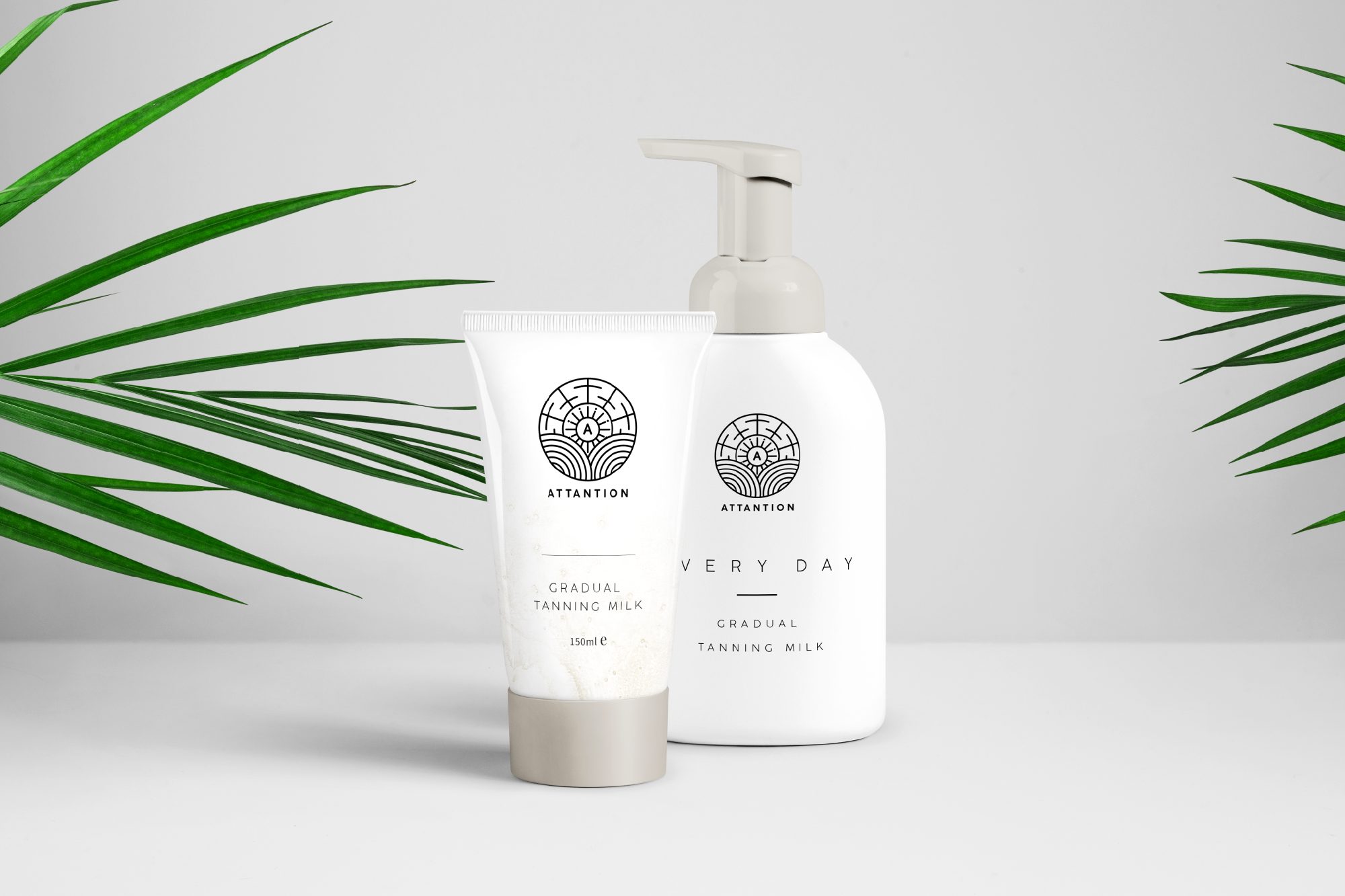 Attantion products mockup
