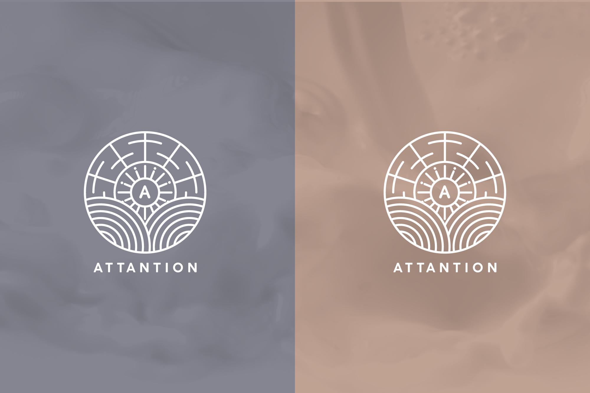 Attantion logo variations