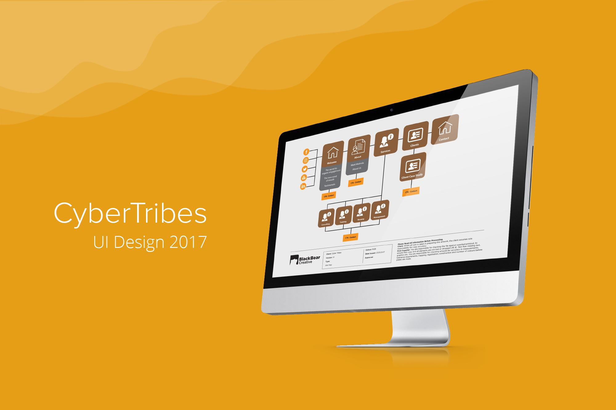CyberTribes UI Design 1