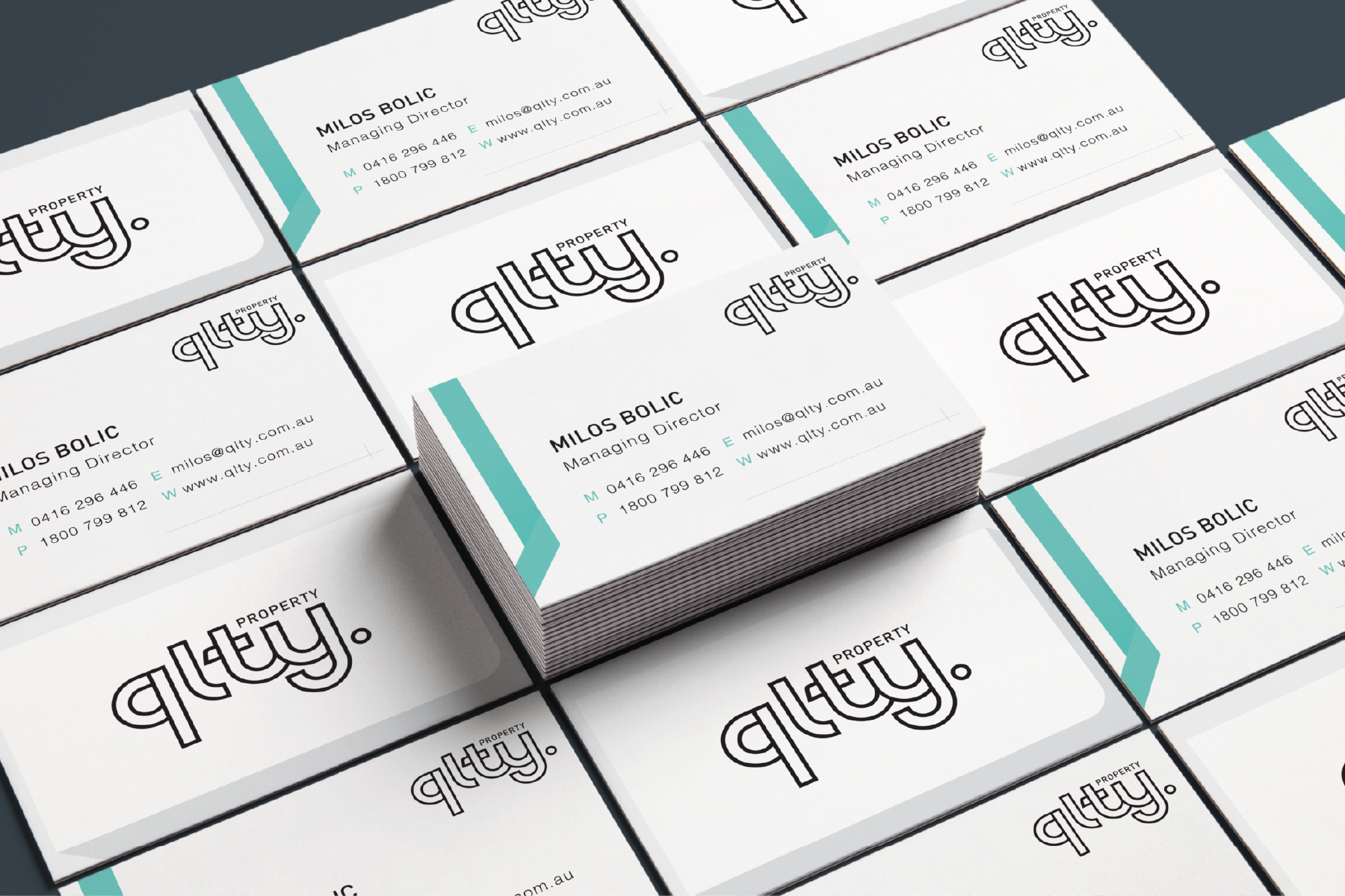 QLTY Business Cards