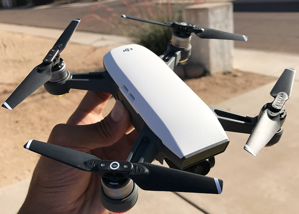 Used Drones For Sale >> DJI Spark: Our In-House First Look at DJI's $499 Drone ...
