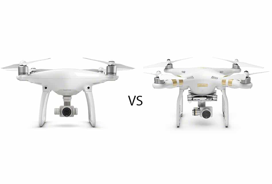 Differences Between The Phantom 4 And 3