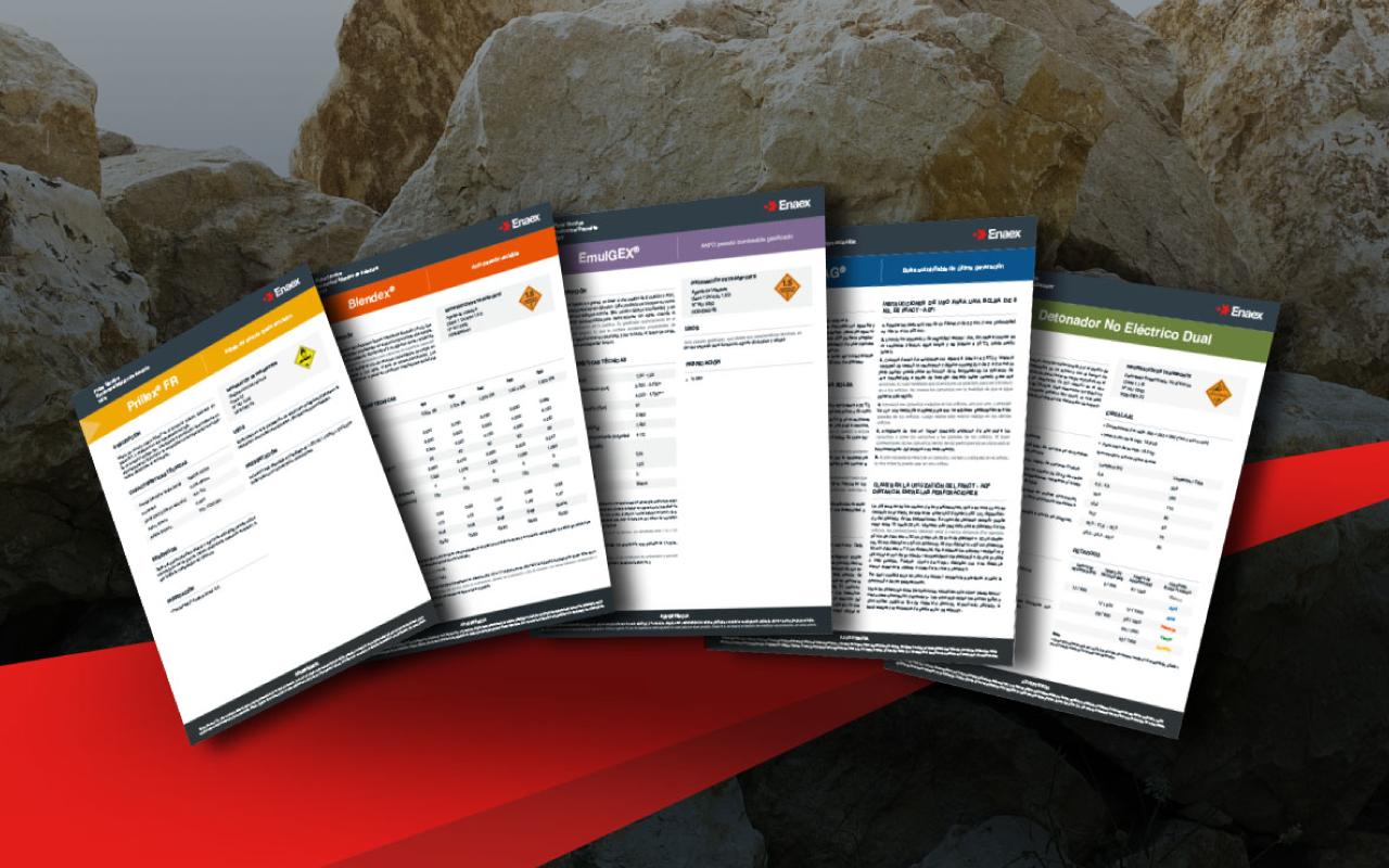 Unificar lineamientos comunicacionales de Enaex a través del diseño gráfico