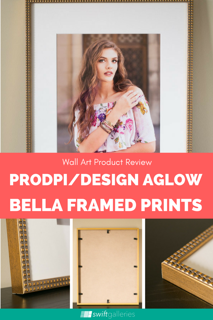 Product Review: ProDPI and Design Aglow Bella Framed Prints
