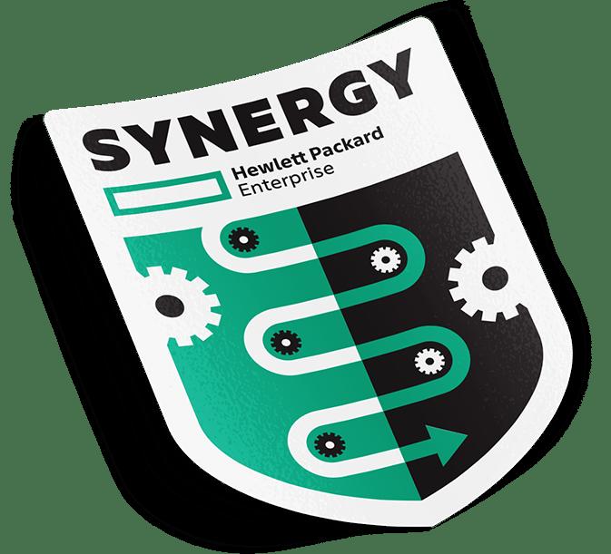 HPE Synergy Logo Design