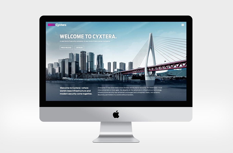 Cyxtera Website UX
