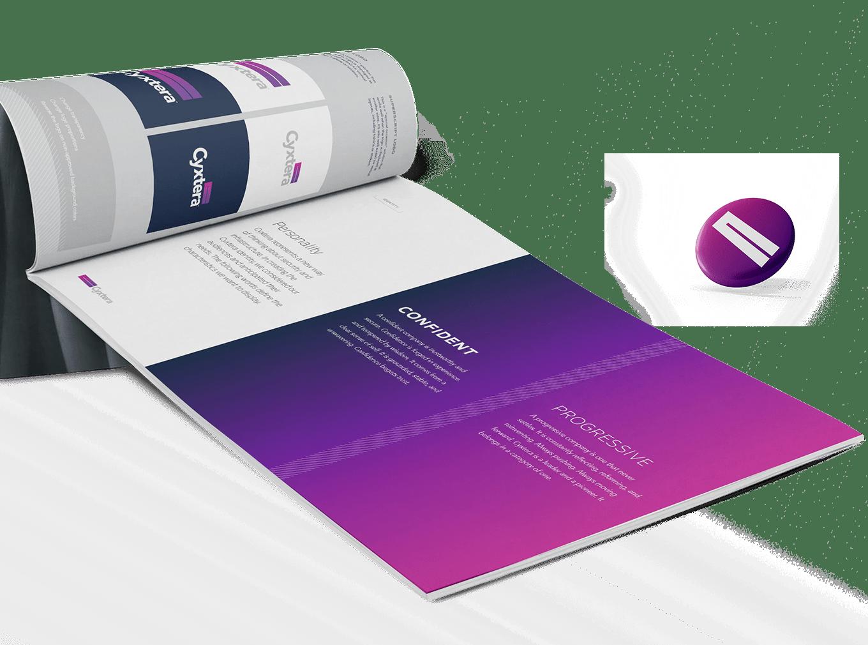 Cyxtera Brand Identity Development