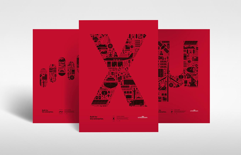 Virtustream Graphic Design