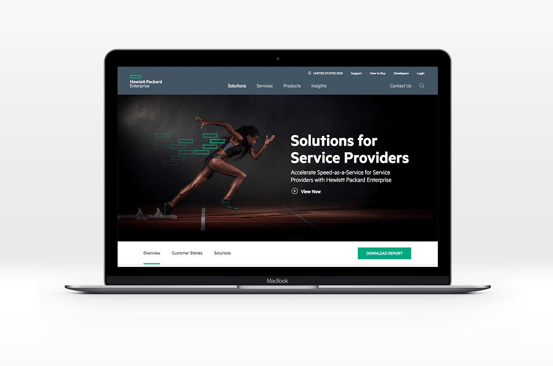 HPE Website Development