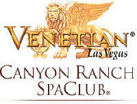 Logo for Canyon Ranch SpaClub at the Venetian