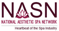 Logo for NASN, national aesthetic spa network