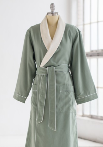 Chadswoth & Haig spa robes and uniforms