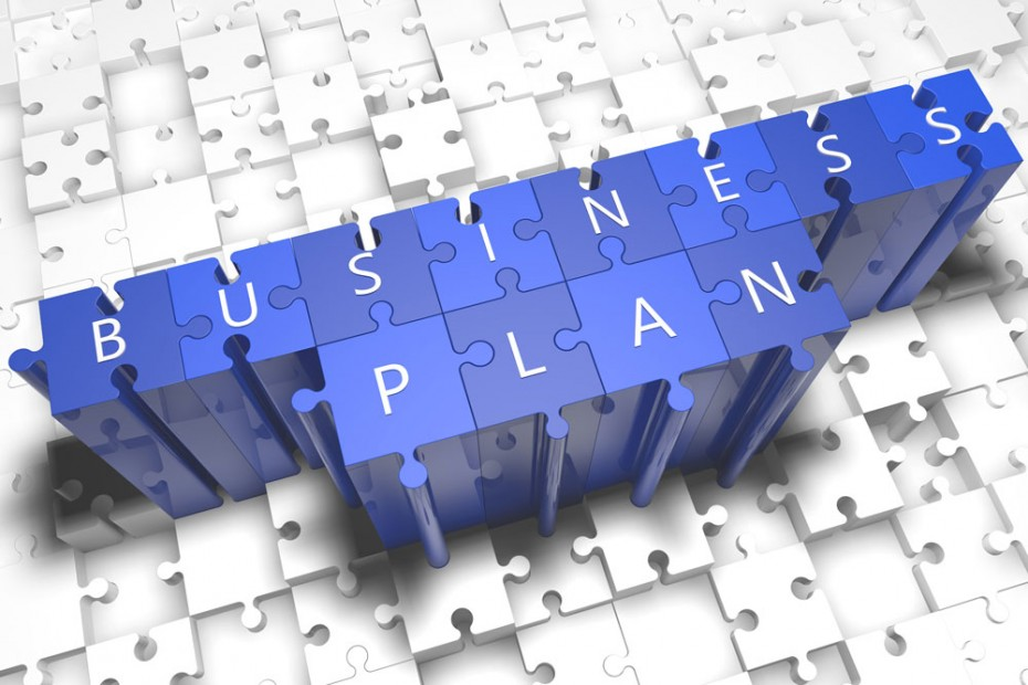 Why is a business plan an important first step in salon or spa development?