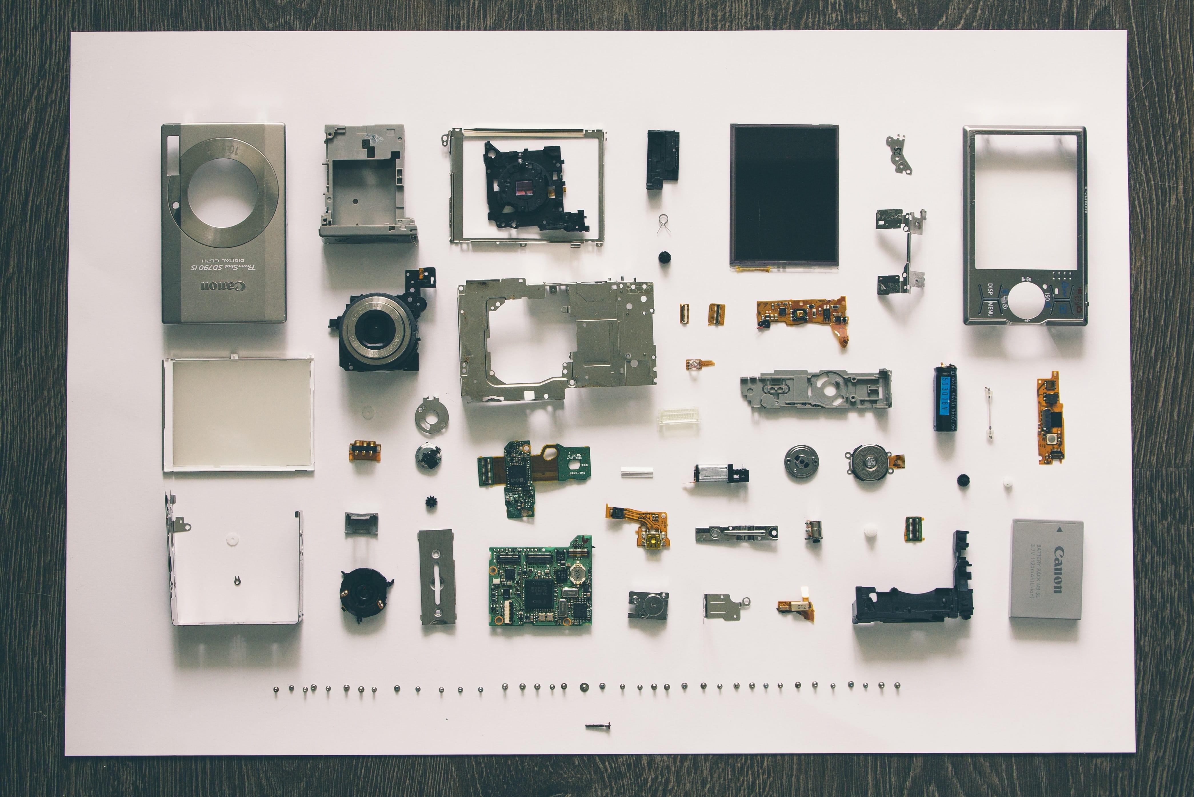Cameras parts