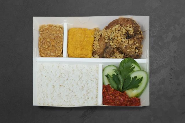 Nasi Uduk Ayam Goreng Kremes