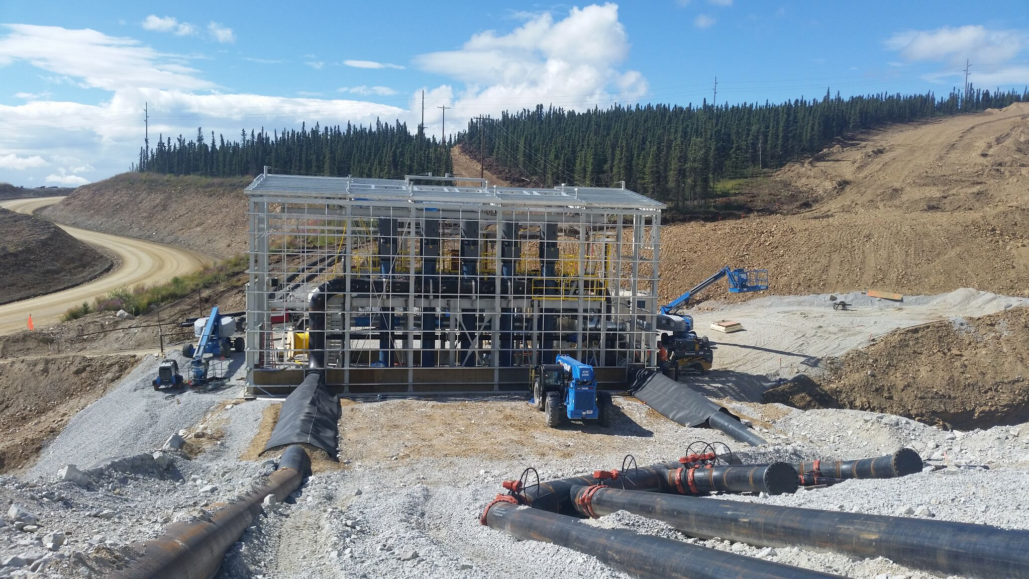 Booster pump stations: photo, equipment, construction