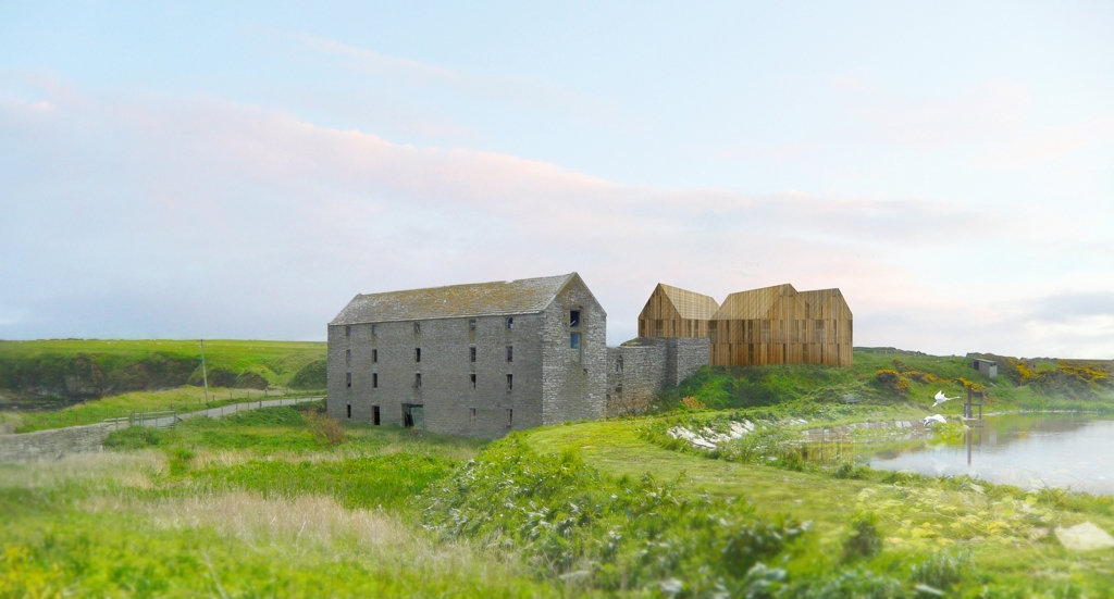 Ham Girnal and Corn Mill Caithness