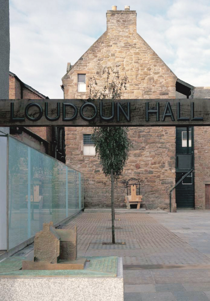 Loudoun Hall Forecourt Ayr