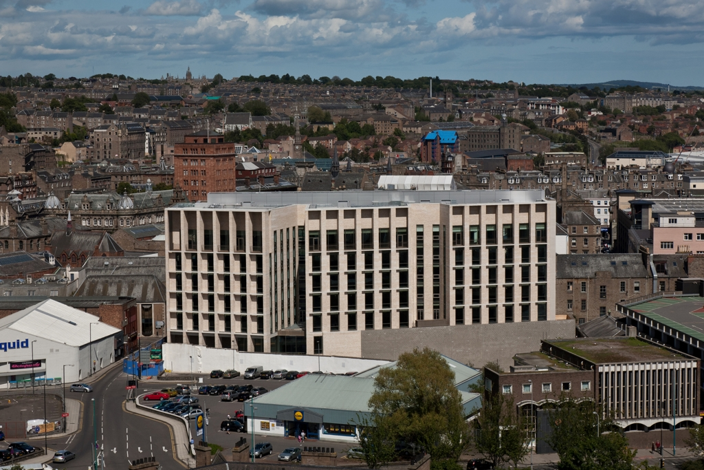 Dundee Council Civic Offices Dundee