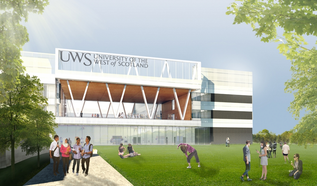 University Campus Building Hamilton
