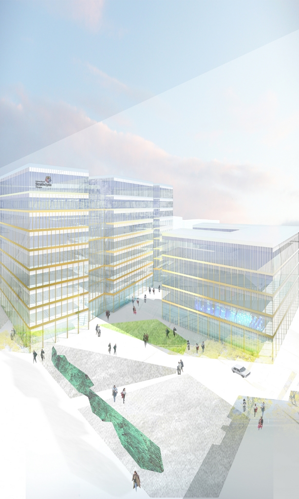 University Labratory and Office Buildings Glasgow
