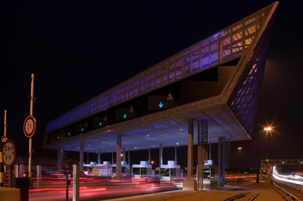Forth Road Bridge Toll Plaza Edinburgh