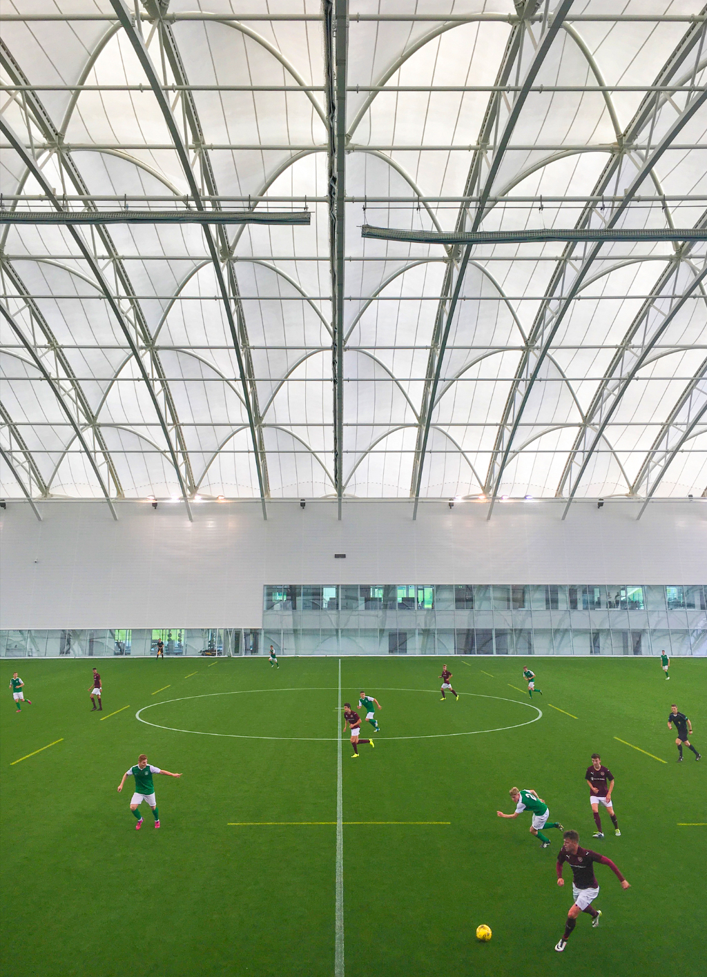 First Competitive Goal Scored at Oriam
