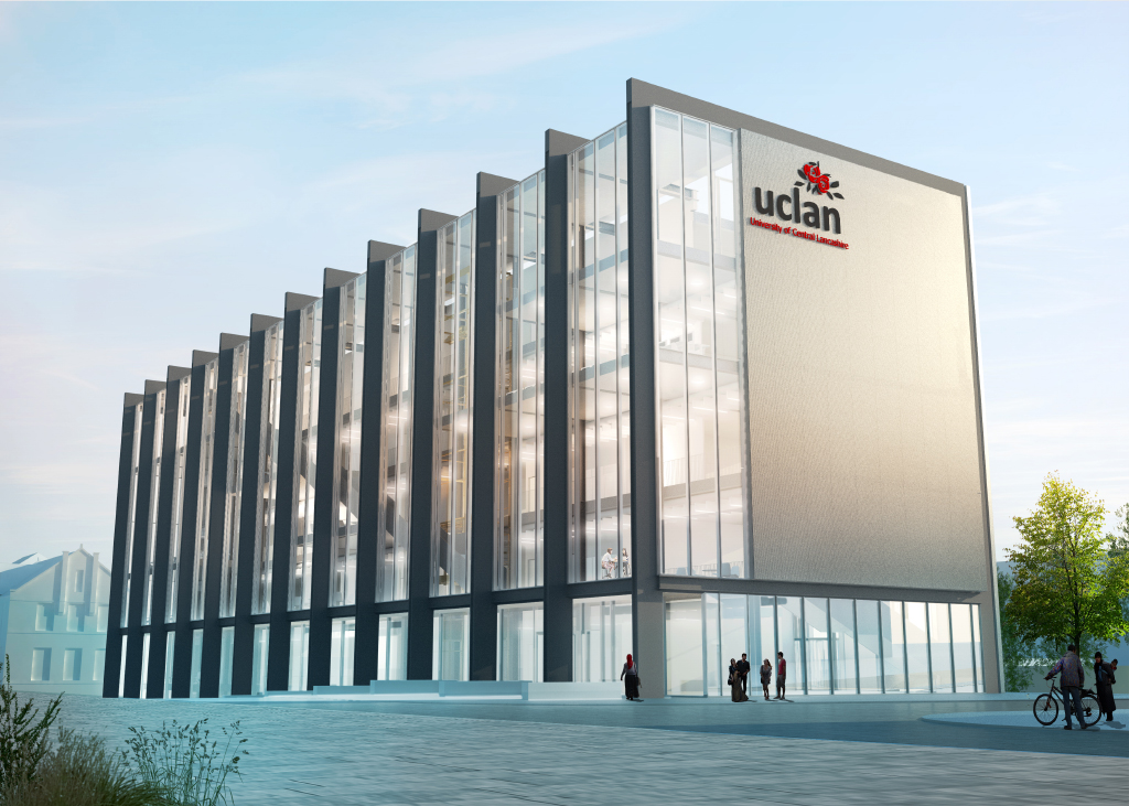 UCLan [University of Central Lancashire] Submitted for Planning