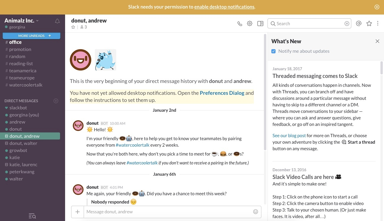 Slack product updates what's new