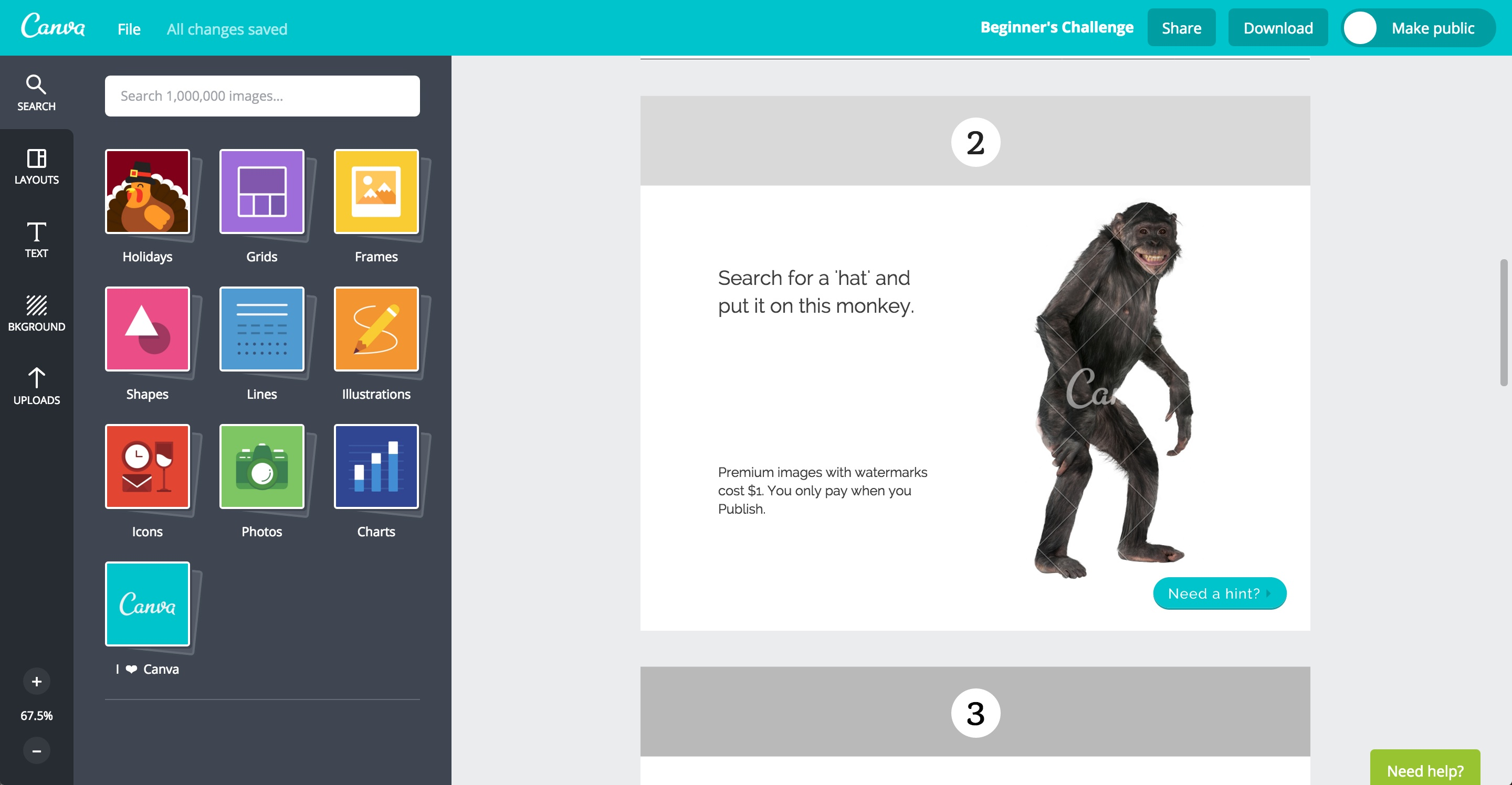 canva user onboarding step 8