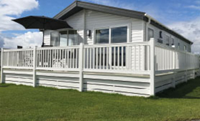 Photo of the Luxury Lodge at Grannie's Heilan' Hame Holiday Park in Embo Dornoch