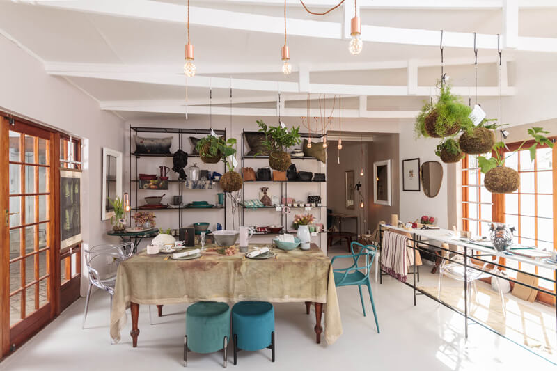 Interior photo of the shop that was used on the website and also in the Elle Decor magazine in SouthAfrica