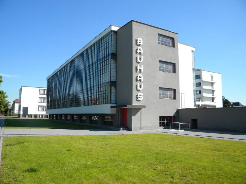 Bauhaus Dessau- Architettura e viaggi di nozze