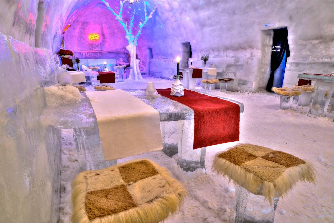 Hotel of Ice - Viaggio di nozze Romania