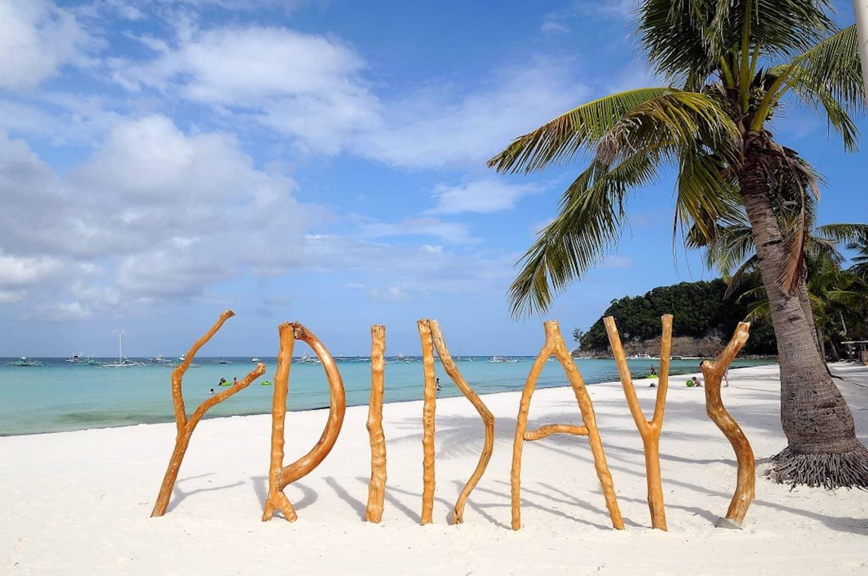 Fridays Boracay - Viaggio di nozze Filippine