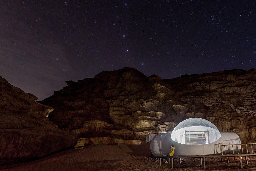 Glamping Wadi Room Wadi Rum Night Luxury Night