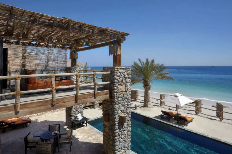 viaggio di nozze in Oman Six Senses Zighy Bay