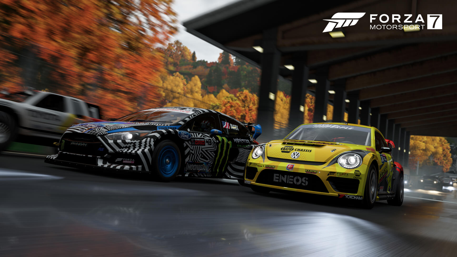 On Xbox One X Forza Motorsport 7 Runs In Native 4K Resolution With High Assets Addition Theres Also Improved Lighting And Shadows