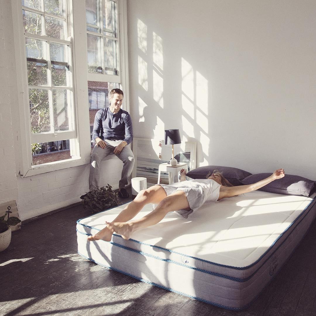 Sleepy Panda mattress in bedroom