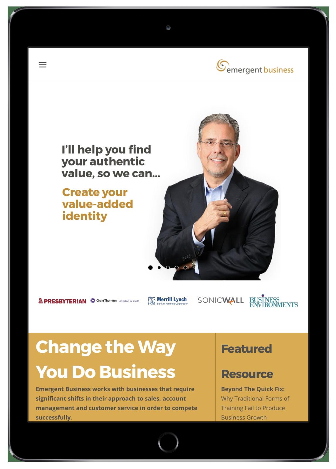Emergent Business on iPad