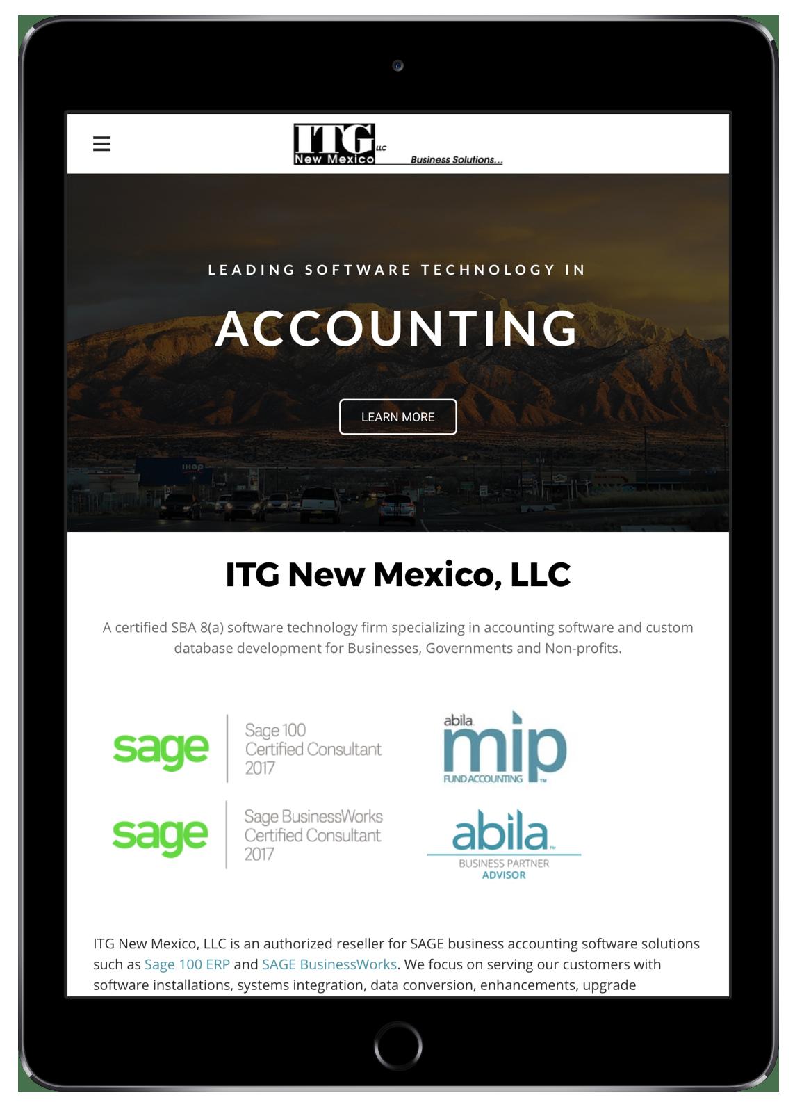 ITG New Mexico (iPad)