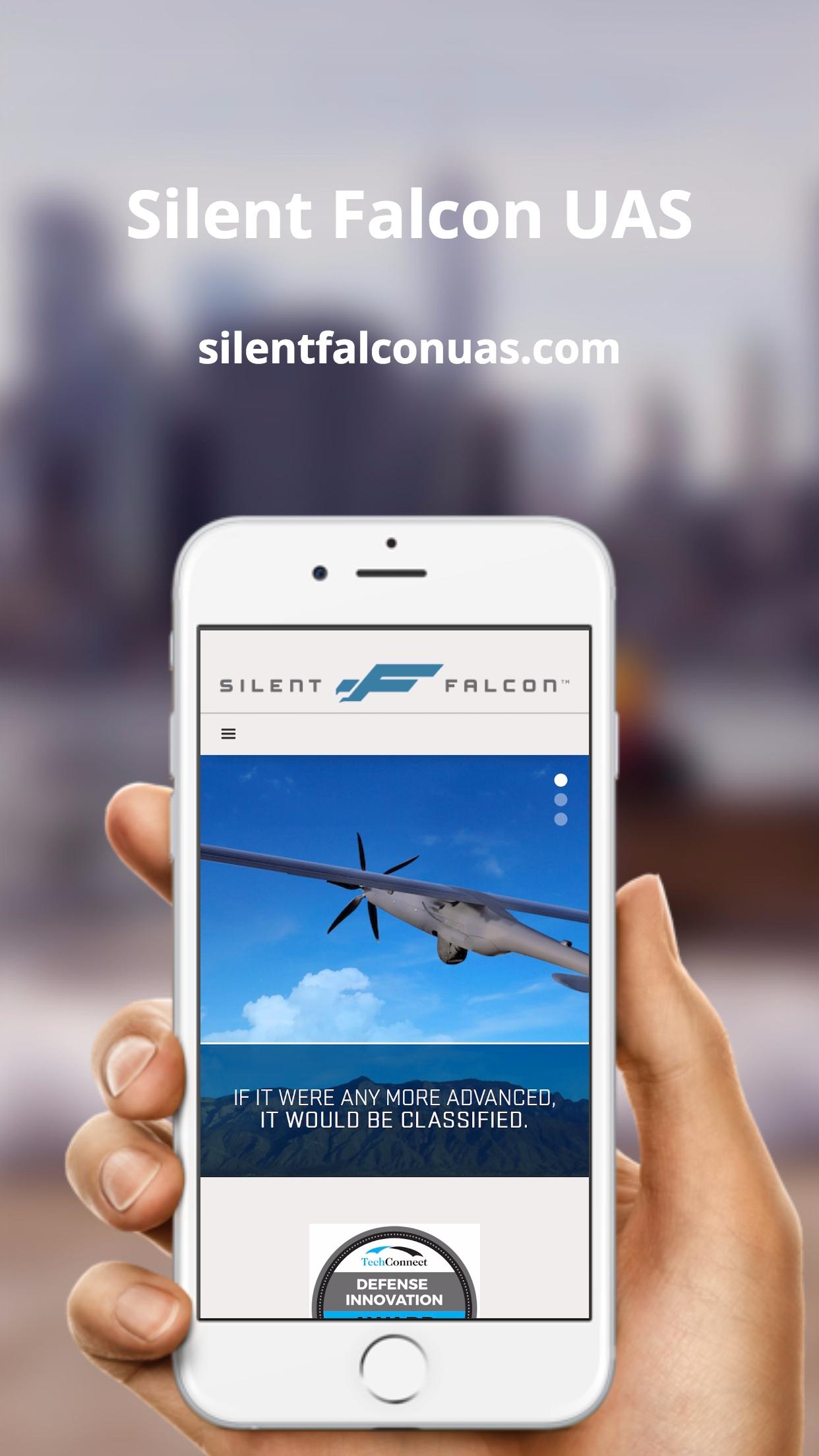Silent Falcon UAS (iPhone)