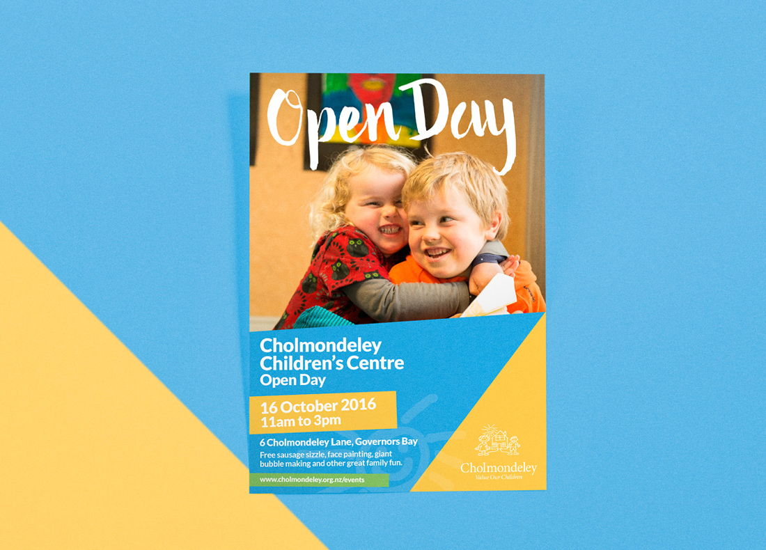 Cholmondeley Open day poster