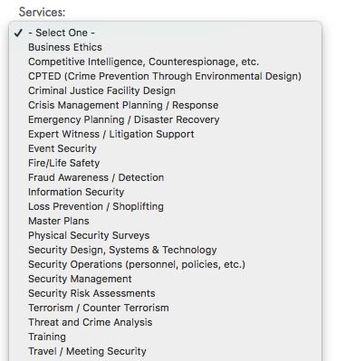 best security consultant