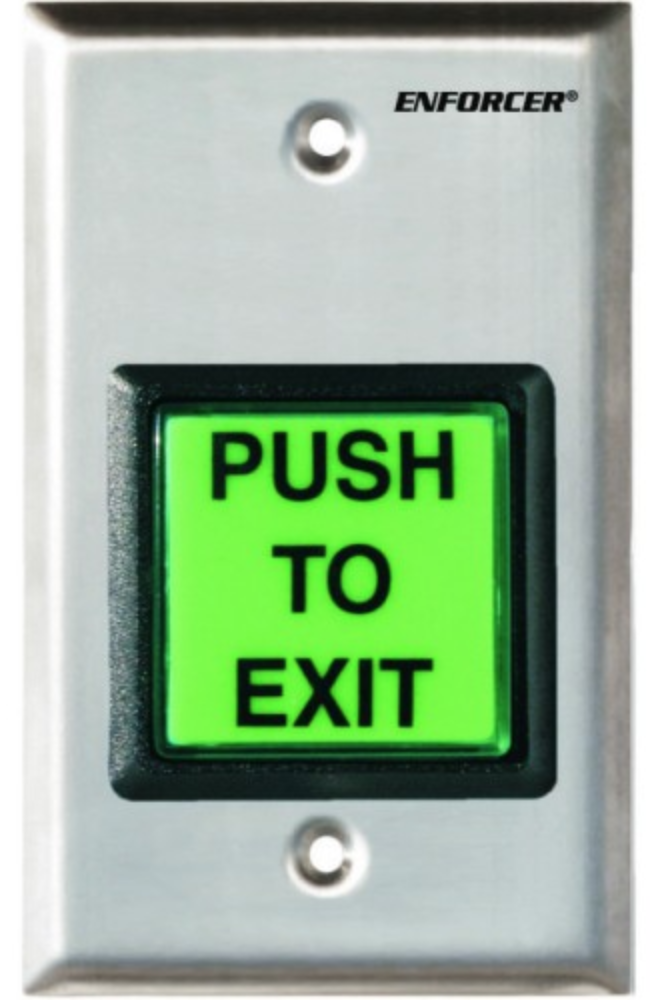 push to exit button by Enforcer