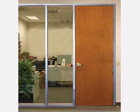 standard wood door