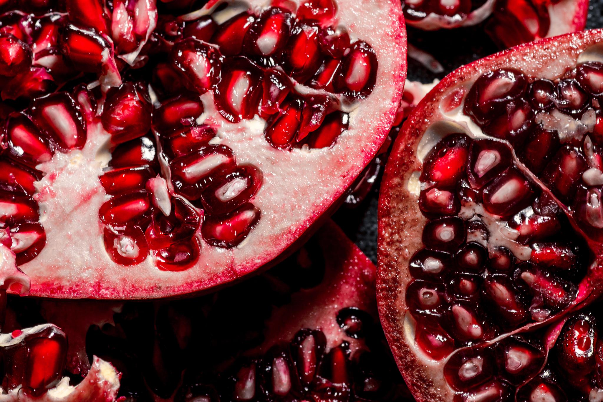 granatapfel detail